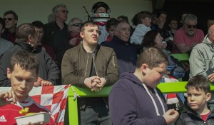 Dilwyn Griffiths sighted at football match
