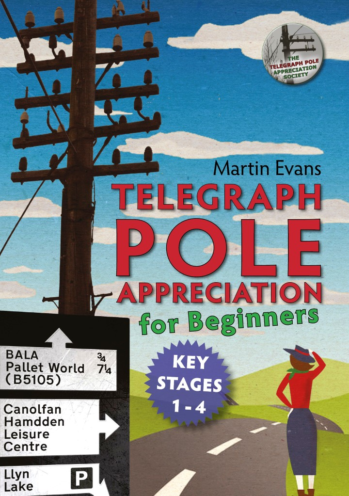 Cover of book called telegraph pole appreciation for beginners